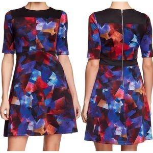 Maggy London Kaleidoscope Print Sheath Dress